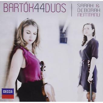 Bartok: 44 Duos For Two Violins Sz 98 by Sarah Nemtanu