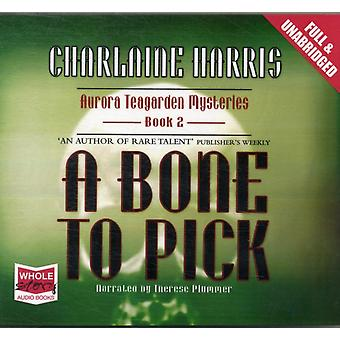 A Bone to Pick (Unabridged Audiobook) (Audio CD) by Harris Charlaine Plummer Therese
