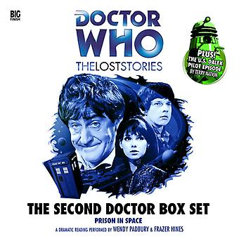 The Second Doctor Box Set (Doctor Who: The Lost Stories) (Audio CD) by Sharples Dick Nation Terry