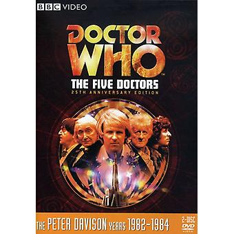 Doctor Who - Doctor Who: Five Doctors [DVD] USA import