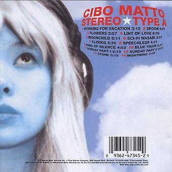 Cibo Matto - importar de USA tipo estéreo [CD]
