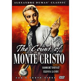 Robert Donat - The Greven af Monte Cristo [DVD] USA import