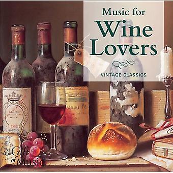 Musik for vin elskere - musik for vin elskere [CD] USA importerer