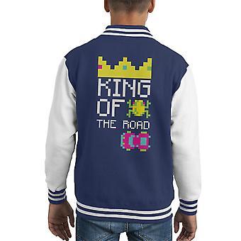 King Of The Road Frogger Kid Varsity Jacket