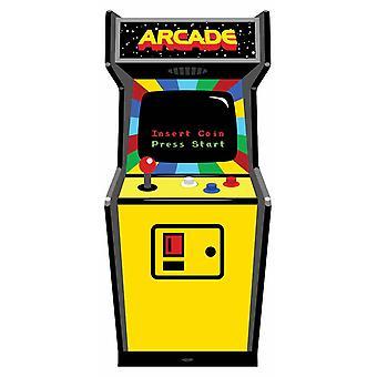 1980s Colour Video Arcade Game Cardboard Cutout / Standup / Standee