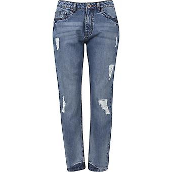 Urban classics ladies boyfriend denim pants