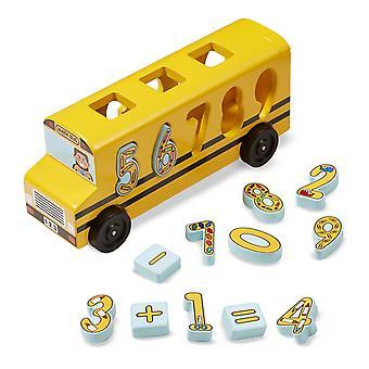 Melissa & Doug numero corrispondenza matematica Bus