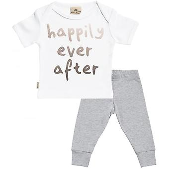 Spoilt Rotten Happily Ever After Baby T-Shirt & Baby Jersey Trousers Outfit Set