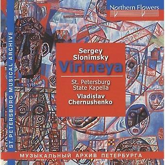 Chernushenko - S.Slonimsky - Virieya [CD] USA importerer