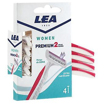Lea Women Premium 2 sheets Disposable Razor 4 Uds