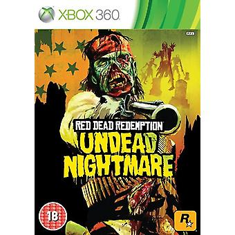 Red Dead Redemption Undead Nightmare (Xbox 360) (brugt)