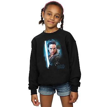 Star Wars Girls The Last Jedi Rey Brushed Sweatshirt