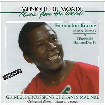 Famoudou Konate - Famoudou Konate: Vol. 2-Malinke rytmer & sange [CD] USA importerer