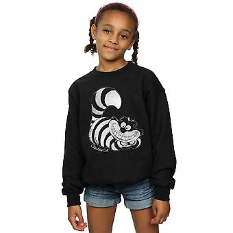 Disney meisjes Alice In Wonderland Mono Cheshire Cat Sweatshirt