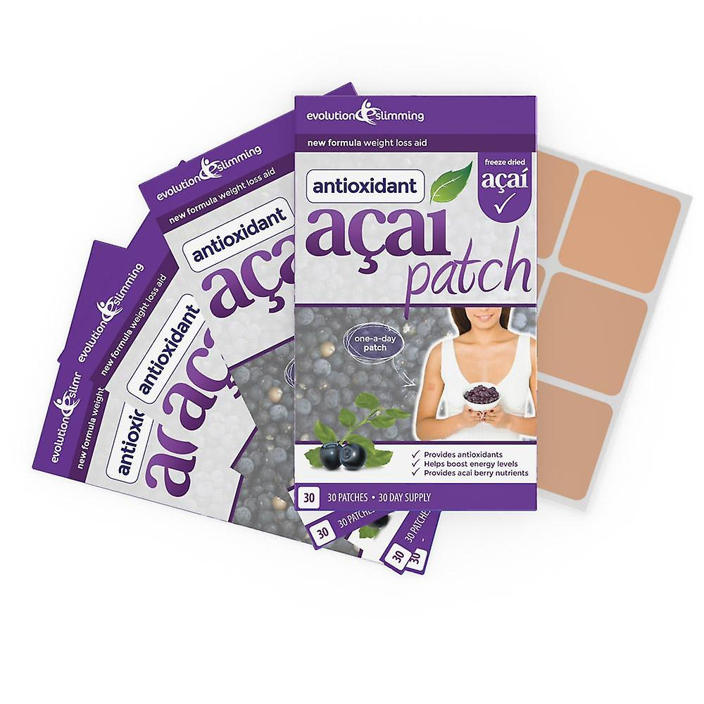 Acai Berry Patch with Green Tea - 120 Patches - Weight Loss Patch - Evolution Slimming