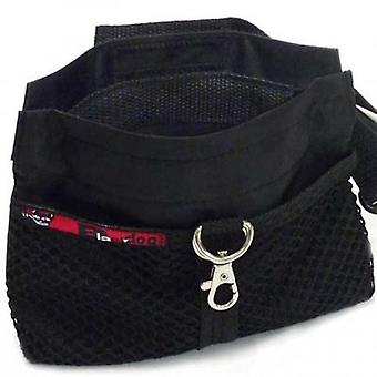 Black Dog Treat Pouch Black Standard