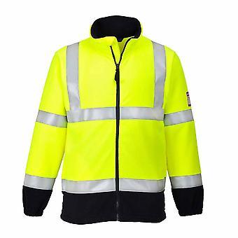 Portwest - куртка флис огнестойкие безопасности Спецодежда антистатическая Привет Vis