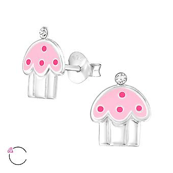 Cupcake crystal from Swarovski® - 925 Sterling Silver Children's Jewellery
