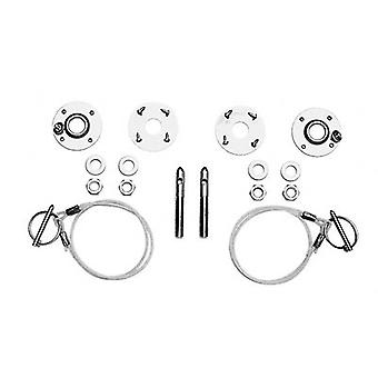 Ford Racing M16700A Stainless Steel Hood Latch and Pin Kit