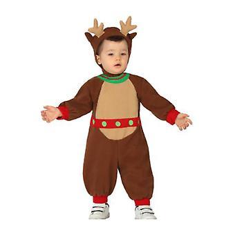 Trajes de bebé bebé Reno de Navidad traje