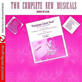 Alta - två kompletta musikaler: Fjorton karats dåre & [CD] USA import