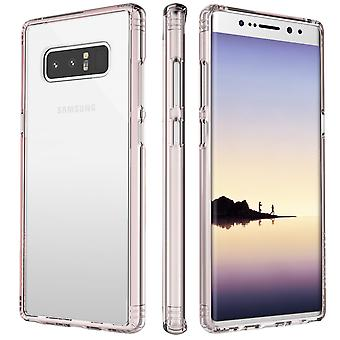 SaharaCase Galaxy Note 8 OnlyCase Series Clear Rose Gold