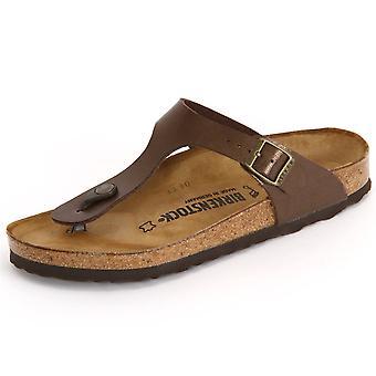 Birkenstock Gizeh Toffee Birkoflor 845221   women shoes