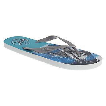 Sand Rocks Mens Surf 87 Toe Post Flip Flops
