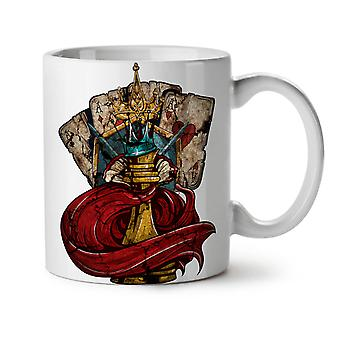 Chess Poker Card Gamble NEW White Tea Coffee Ceramic Mug 11 oz | Wellcoda