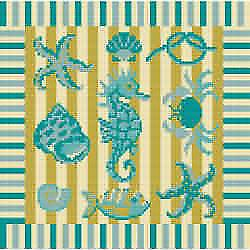 Sealife 2 Needlepoint Kit