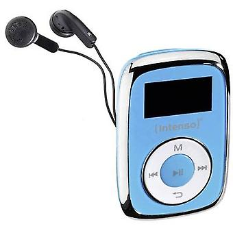MP3 player Intenso Music Movers 8 GB Blue Clip
