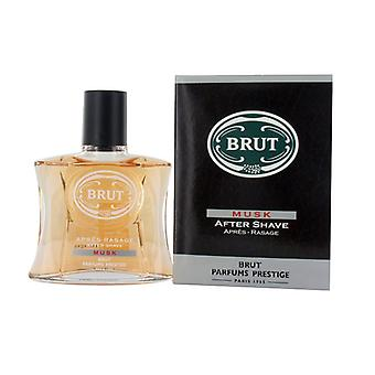 3 X Brut After Shave 100 Ml - Musk - Boxed