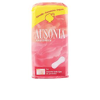 Ausonia Anatomica Compresas 14 Units Womens New Sealed Boxed