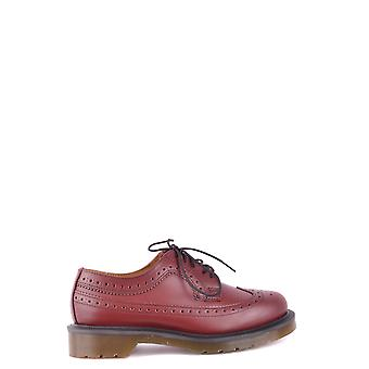 Dr. Martens women's MCBI103050O red leather lace-up shoes