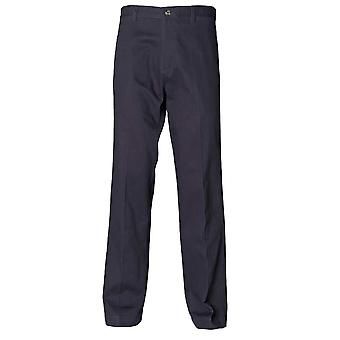 Henbury Mens Teflon Coated Flat Front Chino Trousers
