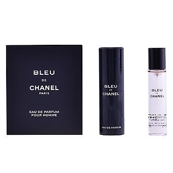 Chanel Bleu Edp Spray Voyage Refill 3 X 20 Ml For Men