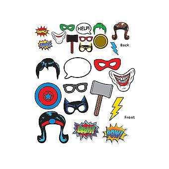 Super héros Photo amusante signes