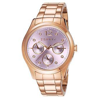 ESPRIT damer ur armbånd watch Tracy rustfritt stål Rosé ES106702009