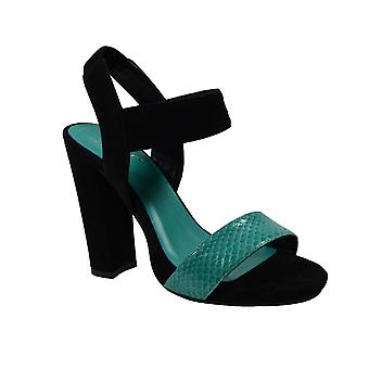 Waooh - Shoes - Sandals leather snake offset TDFC549 The Divine Factory
