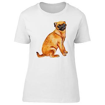Petit Brabancon Breed Dog Tee Women's -Image by Shutterstock