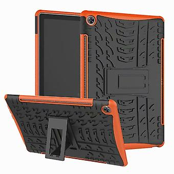 For Huawei MediaPad M5 10.8 / 10.8 Pro hybrid outdoor protective cover case Orange bag cover case