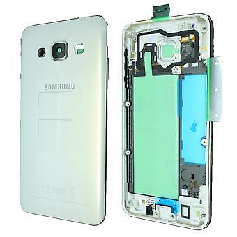 Samsung Galaxy A3 SM-A300 z tyłu obudowy biały   iParts4u