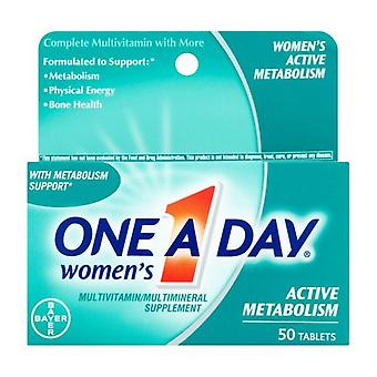 One A Day Women's Multivitamin, Active Metabolism, Tablets, 50 Ea