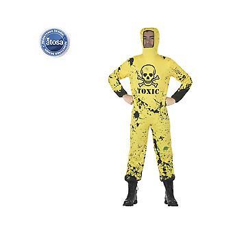 Disfraces de halloween tóxico de trajes de hombres