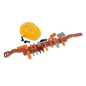 Construction worker set 12-tlgHelm belt tools accessory