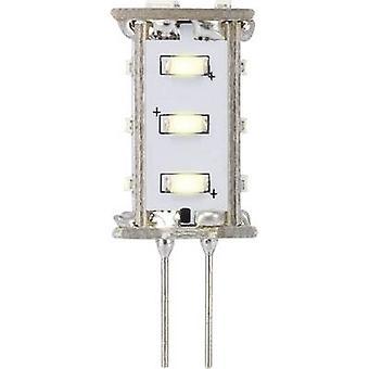 Sygonix LED EEC A (A++ - E) G4 Pen 0.8 W = 5 W Warm white (Ø x L) 13 mm x 33 mm 1 pc(s)
