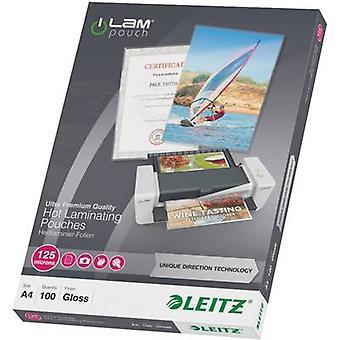 Laminate sheet Leitz A4 125 micron glossy