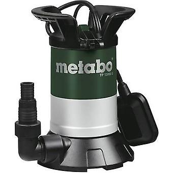Metabo 0251300000 rent vann nedsenkbar pumpe 13000 l/h 9.5 m