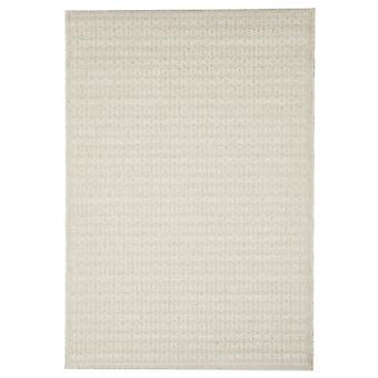 Outdoor carpet for Terrace / balcony light beige Skandi look Stuoia Ecru 155 / 230 cm carpet indoor / outdoor - for indoors and outdoors