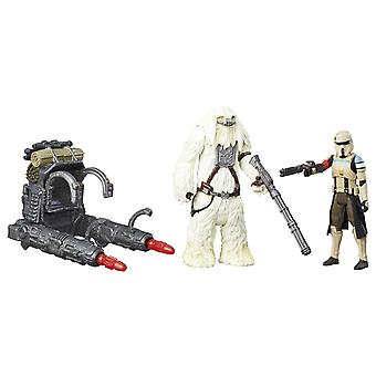 Star Wars Rogue One Scarif Stormtrooper & Moroff Deluxe Pack